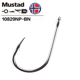 Discount catfish lures - Norway Mustad Barbed Hooks Sharpen Deep Ocean Large Fishing Hooks Worm Lure Barbed Hook Carp Catfish Jigging Hooks Anzol