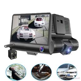 $enCountryForm.capitalKeyWord NZ - Original 4'' Car DVR Camera Video Recorder Rear View Auto Registrator ith Two Cameras Dash Cam DVRS Dual Lens