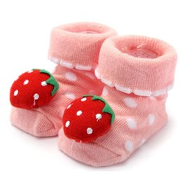 pair boys shoe Australia - Cotton Lovely Cute Baby Socks Shoes 1 Pair Newborn Baby Anti Slip Character Slippers Boots Boy Girl Unisex Skid Socks 0-18 Month