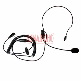 Kenwood tactical headsets online shopping - Behind the neck motorcycle use PTT tactical headset pin for kenwood baofeng wouxun walkie talkie