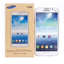 mega cell phones Australia - Refurbished Original Samsung Galaxy Mega 5.8 I9152 3G Cell Phone 5.8Inch Dual Core Android4.2 1.5G RAM 8G ROM