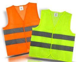 Visibilité Sécurité de travail Construction Gilet Avertissement Gilet réfléchissant travaillant Gilet Vert Gilet réfléchissant de sécurité en Solde