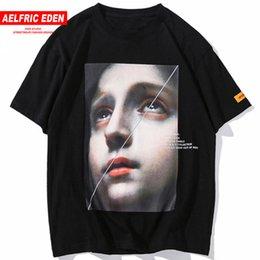 $enCountryForm.capitalKeyWord Australia - Aelfric Eden Funny Little Girl Printed Cotton Casual T Shirt Streetwear Men 2018 Harajuku Tee Shirt Fashion Short Sleeve Up04 Y19072201