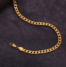 Various Gold Alloys NZ - 20 pcs, Men's Various models Twisted twist Necklace 6 mm wide 18K gold-plated Necklace Alloy Material Don't fade Hip hop Necklace,16~32 inch
