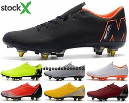 snowboard boots Australia - football boots Mens Shoes CR7 XII eur 46 ronaldo Men size us 12 Mercurial Vapors 12 Elite soccer cleats FG AG Youth boys Classic junior