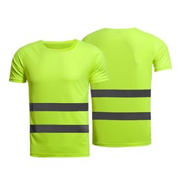 $enCountryForm.capitalKeyWord UK - High Visibility Reflective Safety T-Shirt Short Sleeve Breathable Outdoor Running Tees Tops Night Sports Safe Gear