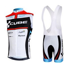 orange blue cube cycling jersey UK - 2020 Cube Summer Sleeveless Breathable Cycling Jersey Pro Team Mountain Bike Team Short Sleeve Shirts Bicycle Wear Ropa Ciclismo Hombre