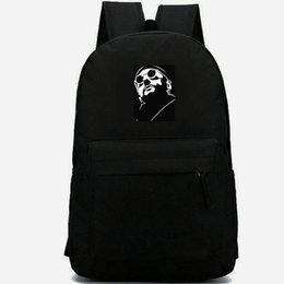 Chinese  Leon backpack Jean Reno daypack Good killer schoolbag Film leisure rucksack Sport school bag Outdoor day pack manufacturers