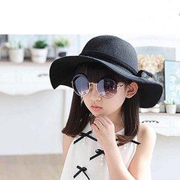 b5160ff0efc Bucket Hat Baby Hat Children Caps Kids Hats Girls Caps 2019 Autumn Winter Sun  Hat Kids Cap Girls Hats Wool Cap Fashion Wide Brim Hats C15443
