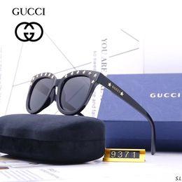 M Sunglasses Brands UK - M-9371 luxury men brand designer sunglass attitude sunglasses square logo on lens men brand designer sunglasses shiny with box