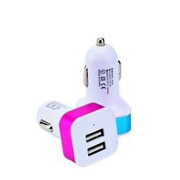 High Quality Usb Gps Australia - Universal high quality 2-ports USB Car Charger DC power adapter for iphone ipad samsung galaxy S7 S8 edge mp3 speaker gps