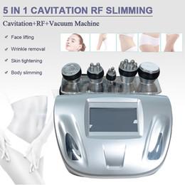 Tripolar laser online shopping - 5in1 K Cavitation rf radio frequency vacuum multipolar Tripolar Laser slim machine cellulite reduction rf Face Skin Lifting