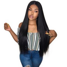 $enCountryForm.capitalKeyWord Australia - 360 Full Lace Human Hair Wigs Pre Plucked Natural Straight Brazilian Virgin Real 360 Frontal Lace Wig For Women Bleached Knots