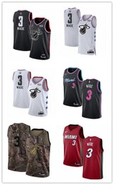 basketball miami NZ - 2019 Kemba Miami Basketball jerseys Heat 3 Dwyane New for shop Men women youth Embroidery Basketball Jersey