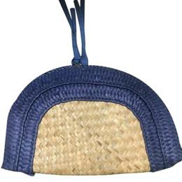 $enCountryForm.capitalKeyWord Australia - Women's Straw Woven Handbag Hansenne Retro Style Clutch Bag Embroidery Bright Rhinestone Evening Party Bag With Double Zipper