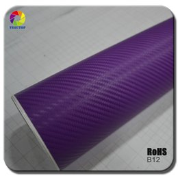 $enCountryForm.capitalKeyWord Australia - Purple 3D carbon fiber car wrap Car Wrapping Film Sheets With Air Drain Top quality 1.52x30m Roll 4.98x98ft