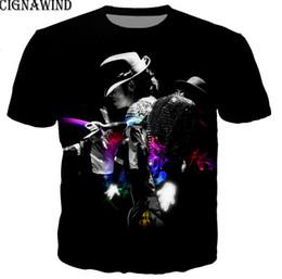 fcc8fc9d Fashion Men Women Michael jackson 3D Print Casual T-Shirt Short Sleeve AQ35
