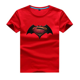 Wholesale GODODOMAOYI Baby Cotton Batman Print Clothes Boy Cartoon T Shirt Girl Summer T Shirt Children Short Sleeve Tee Tops For Kids Costume