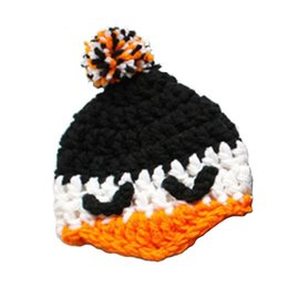 $enCountryForm.capitalKeyWord UK - Adorable Baby Penguin Hat,Handmade Knit Crochet Baby Boy Girl Animal Hat,Halloween Beanie Cap,Infant Newborn Photo Prop Shower Gift
