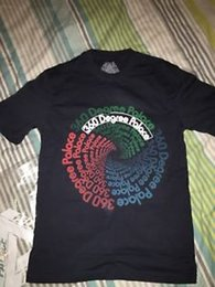 $enCountryForm.capitalKeyWord Australia - Rare 360 Degree Navy Print T Shirt Tee Small