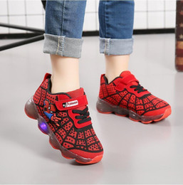 $enCountryForm.capitalKeyWord Australia - Kids Glowing Sneakers With Light Glowing Kids Shoes Boys Girls Luminous Lighted Sneakers Boy Girls Led Children Shoes Size 21-30 Y19062001