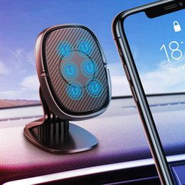 magnet support Australia - Magnetic Car Holder For iphone Samsung Mobile Phone Holder Stand Car Air Vent Magnet Mount GPS Support Car Phone Holder (RETAIL)