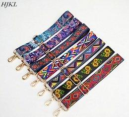 Cinto de Nylon Colorido Sacos de Acessórios Cinta para As Mulheres Rainbow Ajustável Ombro Cabide Bolsa Cintas saco de cadeia Decorativa em Promoção