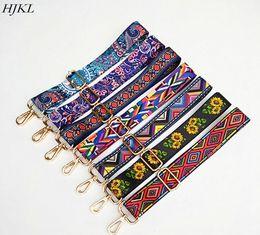 Cinturini colorati in nylon Accessori cinturino per donna Cinturino regolabile con tracolla regolabile per arcobaleno Borsa a catena decorativa in Offerta