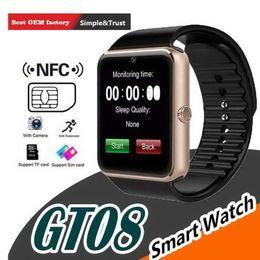$enCountryForm.capitalKeyWord Australia - GT08 Smart Watch Phone Best Smartwatch 2019 2018 Sim Card TF Card Camera Smart Clock for Apple Watch Iphone Android