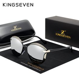 polarizing sunglasses Australia - KINGSEVEN Brand Design Cat Eye Sunglasses Women polarized Luxury Alloy Frame+TR90 Sun Glasses Fashion Retro Oculos De Sol Gafas SH190924