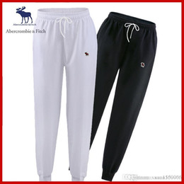 $enCountryForm.capitalKeyWord NZ - Sweatpants spring fall spring autumn corset pants men's casual pants loose popular logo small leg pants spring autumn style sweatpants