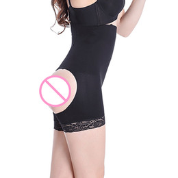 Wholesale Women Seamless Open Hip Butt Enhancer Tummy Control High Waist Trainer Shapers