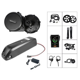 ElEctric convErsion kit bicyclEs online shopping - Bafang BBS02 BBS02B V W Mid Drive Motor Electric Bicycle Conversion Kit V Ah Bike Battery Samsung Cell