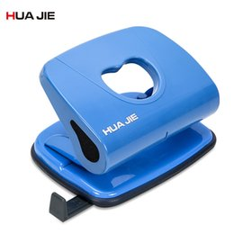 Discount bind machine - Manual Double Holes Punching Machine Plastic Hole Punch Gift Card Paper Binding Puncher School Office Binding Stationery