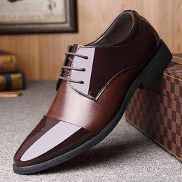 $enCountryForm.capitalKeyWord Australia - 12019 Man Classic Business Affairs Leather Shoes Correct Dress Male Shoe Single Soft Sole Of Shoes