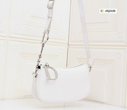 white lace evening bag Australia - 60UF 6002 Joker Shoulder Bag Crossbody Bag White WOMEN HANDBAGS ICONIC BAGS TOP HANDLES SHOULDER BAGS TOTES CROSS BODY BAG CLUTCHES EVENING