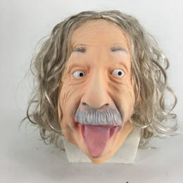 $enCountryForm.capitalKeyWord NZ - 2019 New Fashion Novelty Creative Famous Male Have Long Hair Latex Mask For Halloween Costumes Party Cosplay Decoration