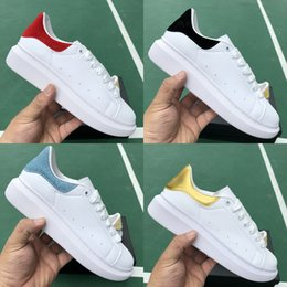 Champagne Shoes Girls Australia - Fashion Luxury ACE Men Women Designer Shoes New Lady Girls leather Flat Casual Shoes Hiking Outdoor Trainers Runner Sneakers 5-11