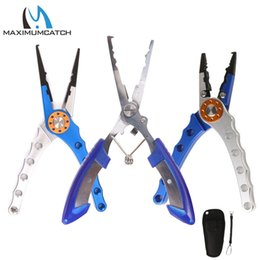 lips fish NZ - tools and parts direct Maximumcatch Aluminum Pliers Hook Remove Fishing Line Cutter Fish Lip Grip Fishing Tool Accessory
