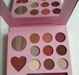 $enCountryForm.capitalKeyWord Canada - Makeup Eyeshadow Palette Lipstick Maquillage Foundation Kylie cosmetic Valentine's Day Gift Set With Heart Shadow And Lip Gloss In 11 Colors