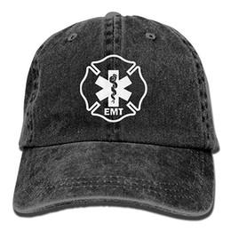 $enCountryForm.capitalKeyWord Australia - 2019 New Wholesale Baseball Caps Mens Cotton Washed Twill Baseball Cap EMT Shield First Responder Military Hat