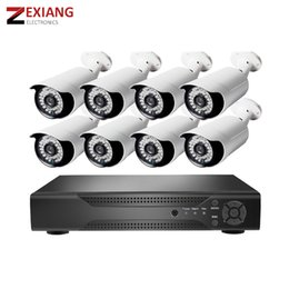 Dvr Channel Cameras Australia - 720p AHD security 1mp cheap 8 channel dvr cctv system camera kit