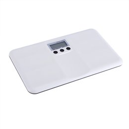 pattern batteries Australia - LCD Digital Electronic On Tare Function Low Battery Lock Alarm Baby Pet Body Weighting Scale