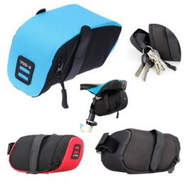 bicycle seat cushions Canada - MTB Road Bike Cushion Saddle Bags Polyester Pack Cycling Bicycle Under Seat Storage Bag Folding Tail Rear Pouch Toolkit