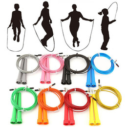 Crossfit Cable jump rope online shopping - Crossfit Steel Jump Rope m Adjustable Skipping Rope saltarina Exercises Training Cable Fitnesss Equimpment