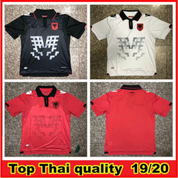 2afb25220 EuropEan soccEr jErsEys online shopping - 2019 Republic of Albania Soccer  Jerseys HYSAJ XHAKA Custom Albania