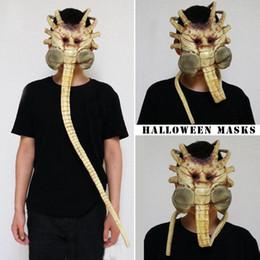 $enCountryForm.capitalKeyWord Australia - 2018 New Shopping Mall Hot Selling 1 1 Alien Contract Worm Model Face Worm Garage Kits Halloween Mask