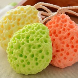 bath cleaner sponge Australia - New Bath Shower Sponge Shower Ball Soft Spa Body Sponges Power Cleaning Tools Bath Ball W8419