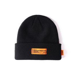 China Heron Preston Beanie kitted beanies Unisex Winter Patriots Hats for Men Women Wool Hat Man Knit Bonnet Beanie Ctnmb suppliers