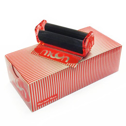 $enCountryForm.capitalKeyWord UK - Moon Red Cigarette Tobacco Rolling Machine 70*36mm Roller Combo Pack Paper Box Smoking Accessories